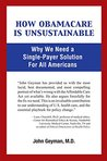 How Obamacare Is Unsustainable: Why We Need a Single-Payer Solution For All Americans
