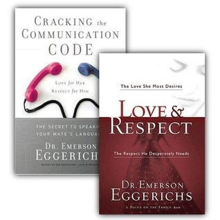 Love & Respect / Cracking the Communication Code, 2 Volumes with DVD By: Emerson Eggerichs - Thomas Nelson Publisher