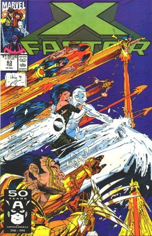 X-Factor #63 by Louise Simonson