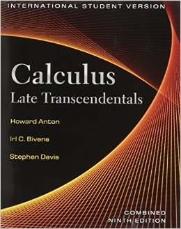 Calculus, Late Transcendentals Combined