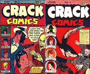 Crack Comics. Issues 1 and 2. Black Condor, Wizard Wells, Madam Fatal, Ned Brant, The Clock, Jane Arden, The Red Torpedo and Alias the Spider. Golden Age Digital Comics Action and Adventure.