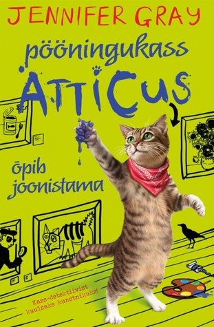 Pööningukass Atticus õpib joonistama