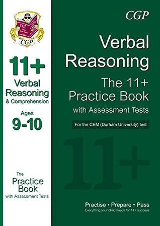 11+ Verbal Reasoning Practice Book with Assessment Tests (Ages 9-10) for the CEM Test