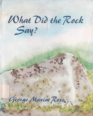 What did the rock say?
