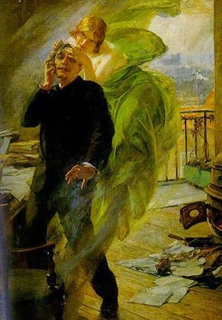 El vestido verde aceituna