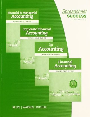 Spreadsheet Success in Accounting by Carl S  Warren