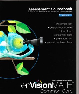 Assessment Sourcebook; Grade 4