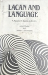 Lacan and Language: A Reader's Guide to Ecrits