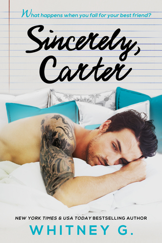 Sincerely, Carter Book Cover