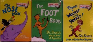 There's a Wocket in My Pocket / The Foot Book / The Nose Book - 3 Board Book Set (Bright and Early Board Books)