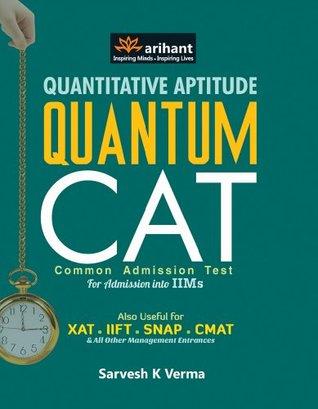 Quantitative Aptitude Book Cat