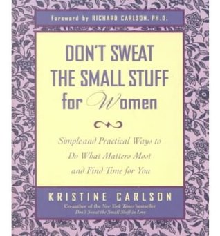 don-t-sweat-the-small-stuff-for-women