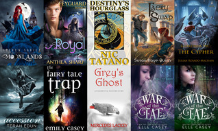 StoryBundle The Crossing Worlds YA Fantasy Bundle