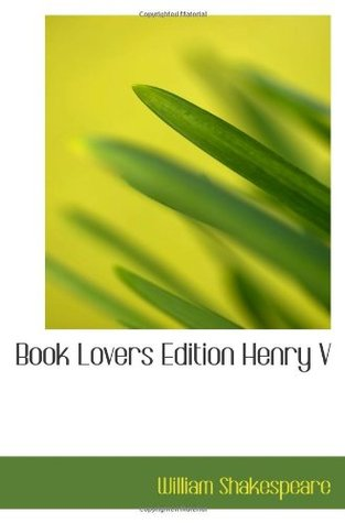 Book Lovers Edition Henry V