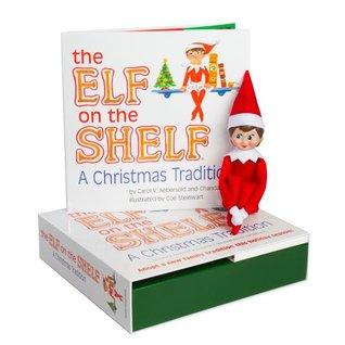 Elf on the Shelf Girl Light Doll & Book
