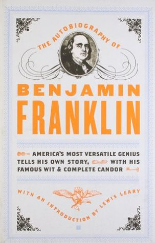 Image result for the autobiography of benjamin franklin book cover