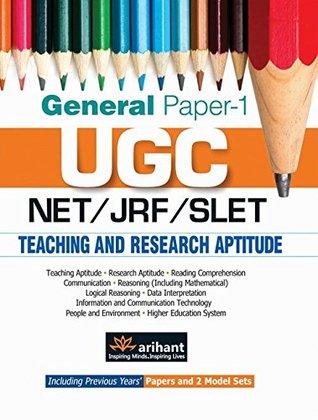 UGC NET/JRF/SLET General Paper-1 Teaching & Research Aptitude