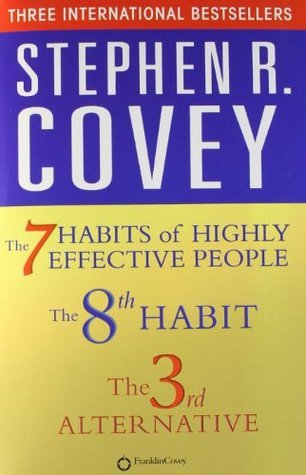 The 7 habits of highly effective people, the 8th habit & the 3rd alternative Stephen R. Covey Box set All in One