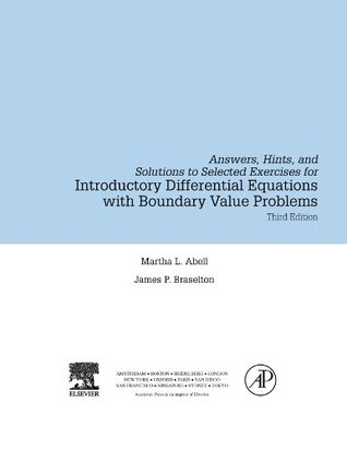 Introductory Differential Equations: with Boundary Value Problems, Student Solutions Manual