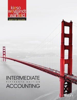 Intermediate Accounting 15th Edition (Kieso) Solution Manual- Word Document