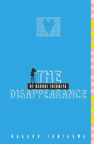 The Disappearance of Haruhi Suzumiya by Nagaru Tanigawa