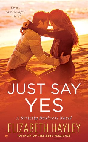 {Interview} with Elizabeth Hayley, author of Just Say Yes (with Review)