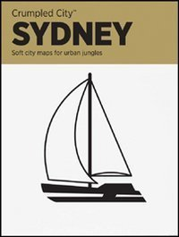 Sydney Crumpled City Map