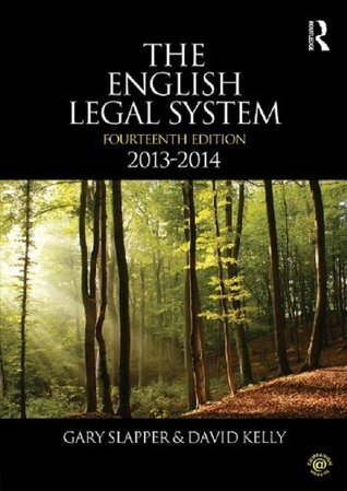 The English Legal System: 2013-2014
