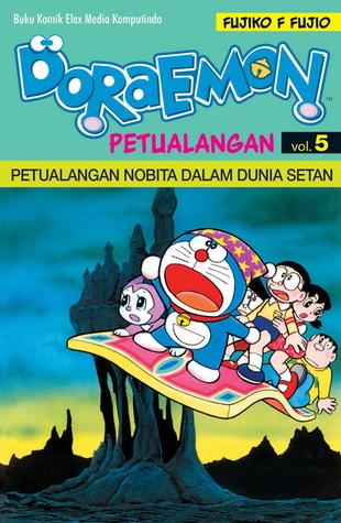 Doraemon Petualangan 5 Petualangan Nobita Dalam Dunia Setan By