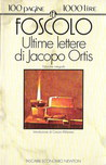 Ultime lettere di Jacopo Ortis cover