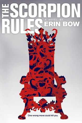 The cover of The Scorpion Rules by Erin Bow