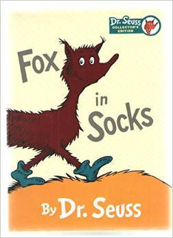 Fox in Sox (Printed for Kohl's by Random House Children's Books)