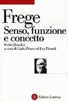 Senso, funzione e concetto: Scritti filosofici 1891-1897