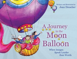 A Journey in the Moon Balloon: When Images Speak Louder than Words