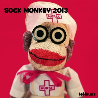 2013 Sock Monkey Wall Calendar