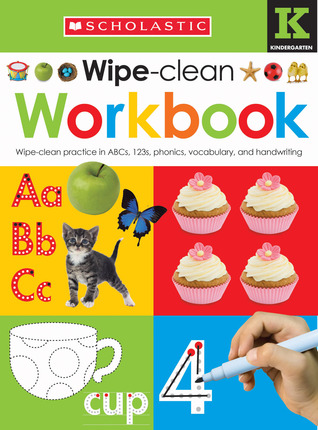 Wipe Clean Workbook: Kindergarten