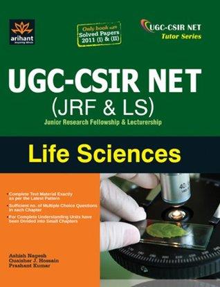CSIR UGC NET LIFE SCIENCE BOOKS PDF