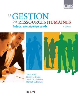 Gestion des ressources humaines 4e éd.