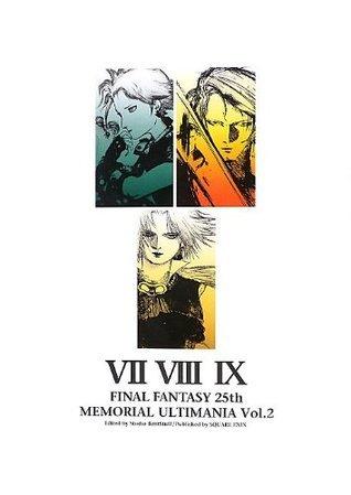 Final Fantasy 25th Memorial Ultimania Vol. 2 Art Book