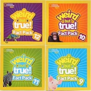 National Geographic Kids Weird but True! Fact Packs Vols: 9, 10, 11 & 12