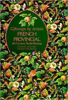 Giftwraps by Artists: French Provincial 18Th-Century Textile Paintings