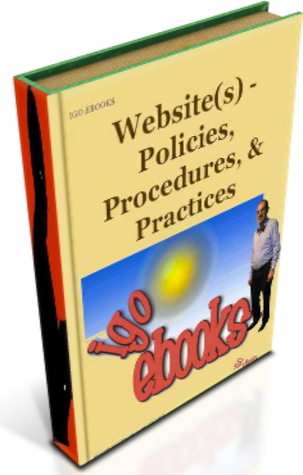iGO eBooks - Website(s) Policies, Procedures, & Practices