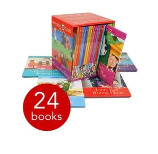 Ladybird Tales 23 Books Collection Box Set Pack (Cinderella, Gingerbread Man, Goldilocks & Three Bears, Hansel & Gretel, Jack And The Beanstalk, Little Red Riding Hood, Rapunzel, Snow,White And The Seven Dwarfs, Three Billy Goats Gruff, etc)