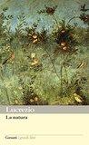 La natura by Tito Lucrezio Caro