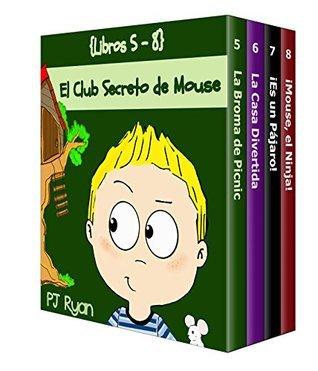 El Club Secreto de Mouse Libros 5-8: Historias Divertidas para los Niños Entre 9-12 Años