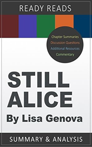 Still Alice by Lisa Genova: A BookMate Summary and Analysis