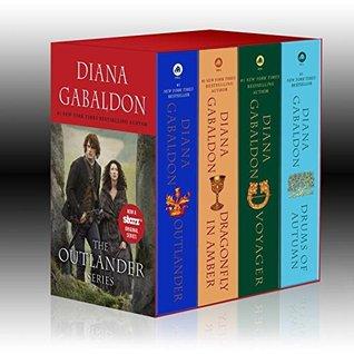 Outlander, Dragonfly in Amber, Voyager, Drums of Autumn (Outlander #1-4)
