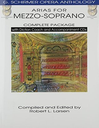 ARIAS FOR MEZZO-SOPRANO COMPLETE PACKAGE BOOK/DICTION COACH/ACCOMPANIMENT CDS