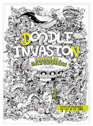 Doodle Invasion Zifflins Coloring Book By Zifflin