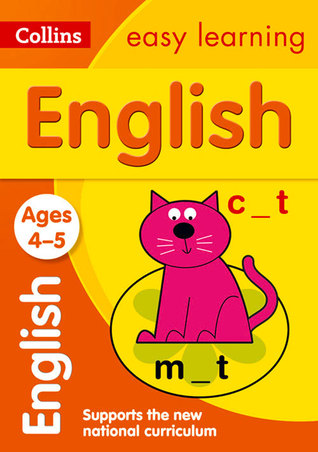 Collins Easy Learning Preschool – English Ages 4-5: New Edition